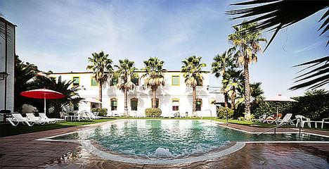 El oasis de Extremadura está en el Balneario El Raposo