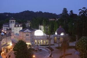 Balneario de Mondariz, unica Villa Termal de España en activo desde 1873.