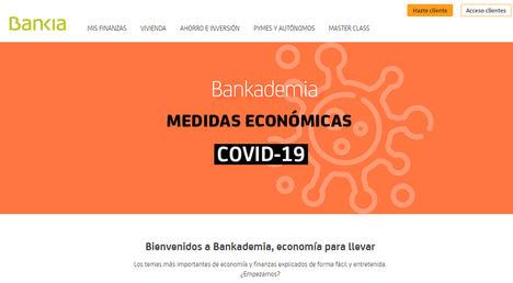 Más de 650.000 personas utilizan Bankademia, el programa de educación financiera de Bankia