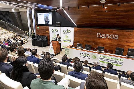 Bankia recibe los premios a la empresa con 'Mejor estrategia de Big Data' y 'Mejor estrategia de Data Visualization'