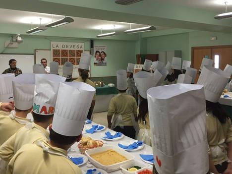 Begoña Rodrigo, en las finales regionales de 'Súper Chef por un Día'