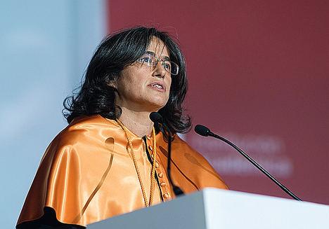 """Belén Arcones, nombrada """"profesora honoraria"""" de la Universidad Internacional del Ecuador"""