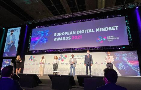 """Correos recibe el premio """"Best Digital Transformation Enterprise"""" por sus soluciones e-commerce y Correos Market"""