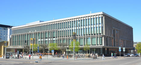 Biblioteca de la ciudad de Gotemburgo, Suecia.