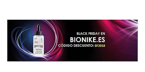 Bionike ofrece un 40% de descuento en la webshop este Black Friday