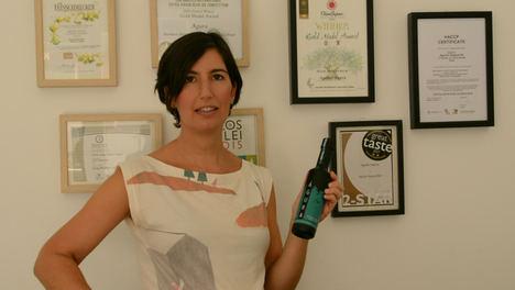 Blanca Aguilar Segura, gerente de Aceite de Oliva Virgen Extra Águra.