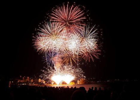 Blanes celebra esta semana el 48º Concurso de Fuegos Artificiales de la Costa Brava