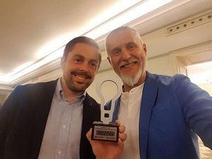 Blarlo recibe el premio a la 'Mejor idea del año'