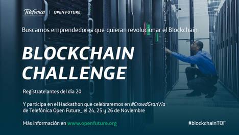 Open Future_ organiza El Primer Hackathon de Telefónica sobre Blockchain