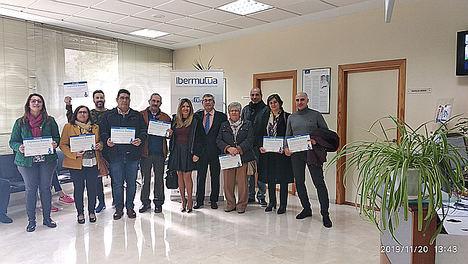 Reconocimiento de Ibermutua a un centenar de empresas de Jaén por su labor para prevenir y reducir la siniestralidad laboral