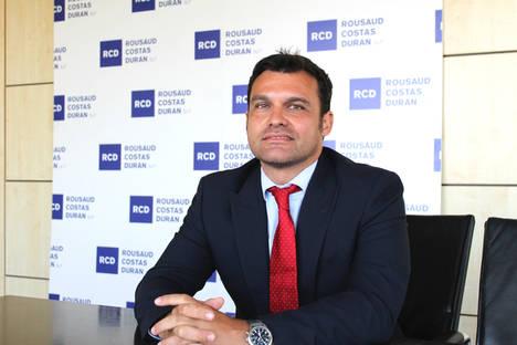 RCD – Rousaud Costas Duran ficha a Borja de Gabriel como nuevo socio del Área Fiscal
