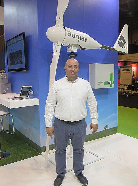 Bornay presenta la batería de litio Pylontech en Genera 2019