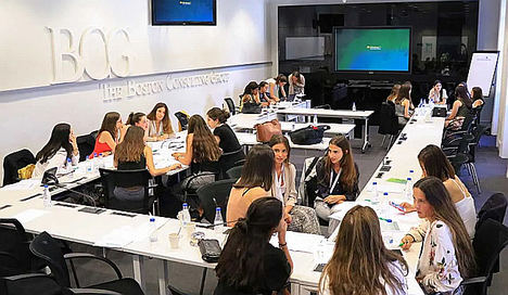 Boston Consulting Group celebra en Madrid el II BCG Women's Boot Camp Spain 2019