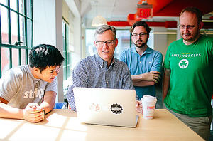 Brian Halligan, CEO y cofundador de HubSpot.