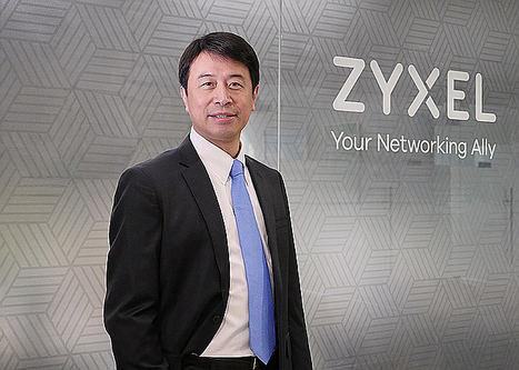 Brian Tien, vicepresidente mundial de ventas y marketing de Zyxel.