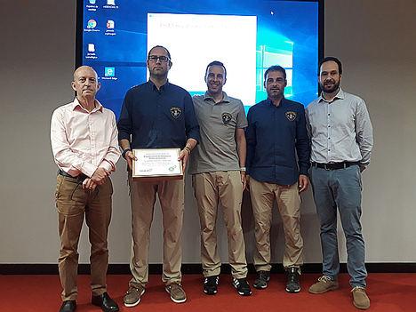La Brigada de Salvamento Minero transmite sus conocimientos en seguridad en una jornada técnica en Navarra