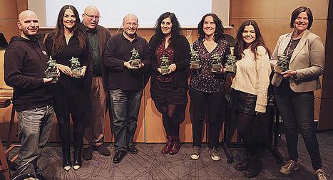 Donostia Kultura, LibreCon, WomanSarea o Euskaraldia, entre los premiados de los Buber Sariak 2018