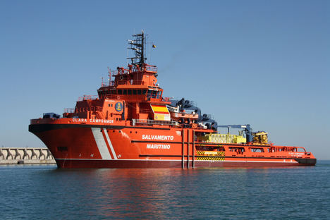Satlink proporcionará comunicaciones vía satélite a la flota de Salvamento Marítimo