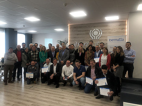Ibermutua reconoce a más de 250 empresas burgalesas por su labor para prevenir y reducir la siniestralidad laboral