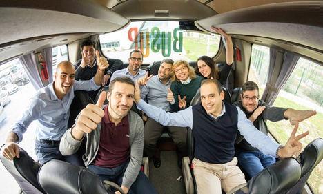 BusUp lanza un nuevo bus de empresa especial Covid-19 para un transporte seguro