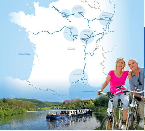 El último lujo: recorrer los canales de Francia en una barcaza exclusiva
