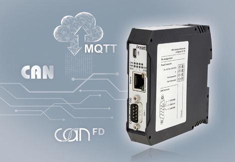 Las series Ixxat CAN@net NT y CANbridge incorporan procesamiento de script LUA inteligente, mensajería MQTT bidireccional y nuevo hardware