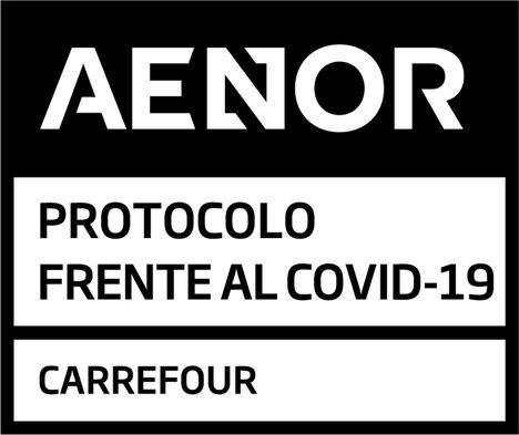 Carrefour, primera empresa de distribución de España certificada por AENOR ante el coronavirus