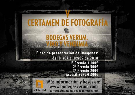 La V edición del Certamen Fotográfico Nacional que organiza Bodegas Verum se centrará en la diversidad paisajística y valor medioambiental del viñedo