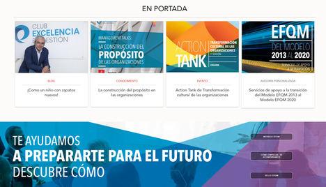 El Club Excelencia en Gestión lanza su nueva plataforma web evolutiva y viva