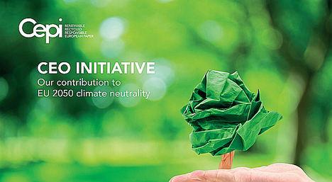 La industria papelera europea firma una declaración de apoyo y compromiso con la descarbonización para alcanzar la neutralidad climática en Europa