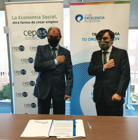 CEPES y el Club Excelencia en Gestión se unen para fomentar la contratación pública responsable