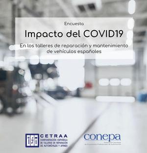 2 de cada 3 talleres con personal contratado han presentado ERTEs durante la crisis Covid19