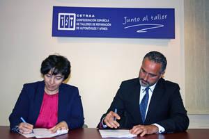 CETRAA y la Fundación para la Economía Circular firman un manifiesto a favor de la economía circular en el sector de la reparación