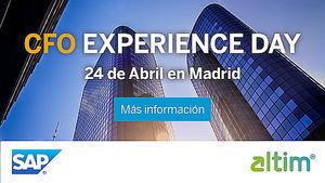 Altim estará presente en la II Edición de CFO Experience Day de SAP