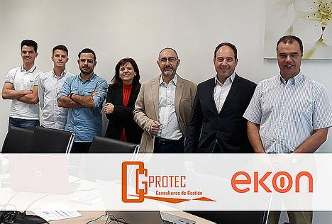 La consultora TIC vallisoletana CGProtec apuesta por Ekon para agilizar la transformación digital a las empresas de Castilla y León