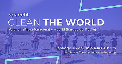 Clean the world con Spacefit