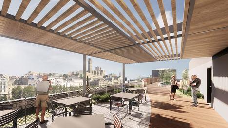 El despacho de arquitectura B\TA proyecta una residencia de 154 plazas en Lleida aplicando su propuesta de modelo combinado de unidades de convivencia reducidas