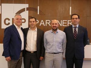 De izqda a dcha: Antonio Benito, Enrique Durán, Mario Garciablanco y José Luis García Hortells.