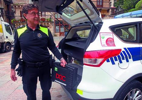 Lezo ya es un municipio cardioprotegido con desfibriladores inteligentes doc