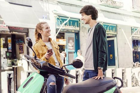 COUP, el servicio de scooters eléctricas compartidas, comienza a operar en Madrid