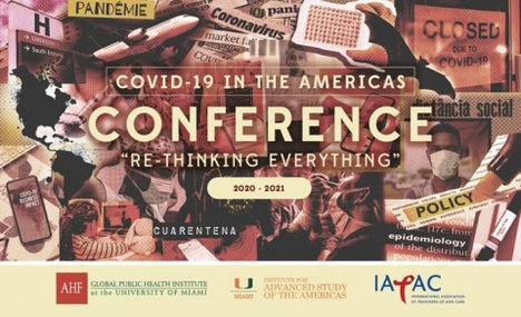 """La Conferencia COVID-19 en América se propone """"Repensar todo"""""""