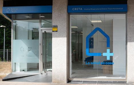 La línea CRETA Centros Respiratorios Esteve Teijin Asistencial crece con la apertura de 5 nuevos centros en Galicia y Cataluña