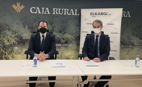 Caja Rural de Navarra se incorpora al capital social de ELKARGI para apoyar a las empresas de Euskadi, Navarra y La Rioja
