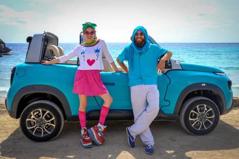 Cósima Ramírez amadrina el Citroën E-Mehari en Ibiza