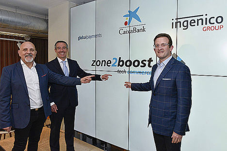 CaixaBank, Global Payments e Ingenico Group crean un programa internacional de innovación dirigido a