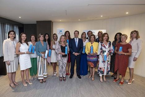 """CaixaBank reconoce la trayectoria profesional de empresarias españolas y las reúne con otras líderes mundiales en sus """"Premios Mujer Empresaria 2020"""""""