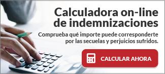 Calculadora online de indemnizaciones, una herramienta gratuita para lesionados en accidentes