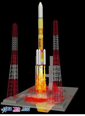 Calcula los mecanismos de generación y propagación de los tubos de escape de los motores y las ondas acústicas durante el lanzamiento de los cohetes. Imagen simuladas con el actual sistema JSS2.