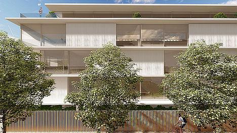 CALEDONIAN construye una urbanización a lo Fort Knox nunca vista en el centro de Madrid