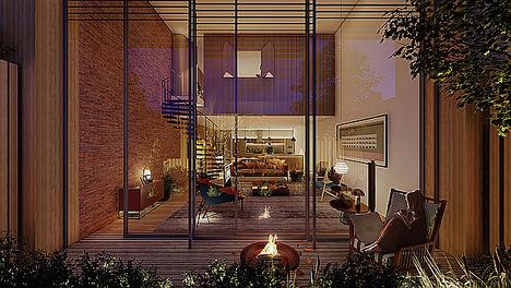 CALEDONIAN y Marcio Kogan inician las obras de su primera promoción conjunta de pisos en España